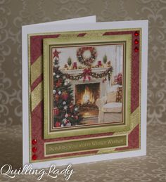 A set of two Christmas cards but this time a little bit different. There is a story behind these cards :) Santa is coming to find this beau...