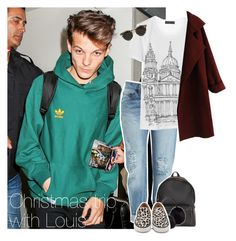 """Christmas trip with Louis"" by reasongirl ❤ liked on Polyvore"