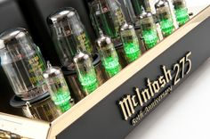 McIntosh launches 50th Anniversary edition MC275 Tube Power Amplifier