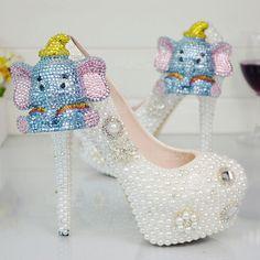 Kaliteli Malzemelerden El İşçiliğiyle Üretim Özel Günler için Moda Kadın Topuklu Ayakkabı Modelleri- IGD080611605