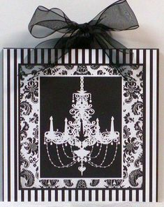 Items similar to Shabby Damask Stripes black and white Chic French Chandelier Wooden Wall Plaque on Etsy Damask Bedroom, Damask Decor, Bedroom Black, Chanel Bedroom, Bedroom Wall, Shabby Chic Chandelier, French Chandelier, Shabby Chic Decor, Black Chandelier