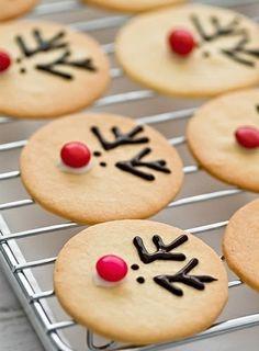 Photo Les cookies rennes - Food : 100 idées pour se régaler à Noël - Lifestyle - Be.com