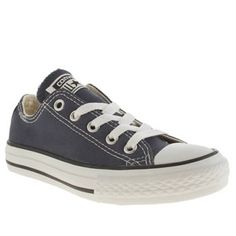 Converse Navy All Star Lo Unisex Junior Everyone can now wear a piece of  fashion history with the iconic Converse All Star Lo in navy!