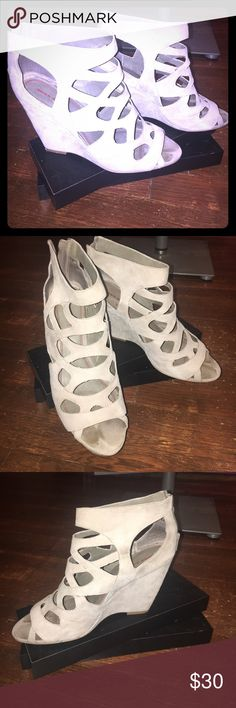Miss Sixty Grey Sandal Mint condition open toe Miss Sixty sandal Miss Sixty Shoes Sandals