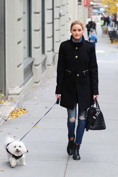 Olivia Palermo in New York, 8/12/14