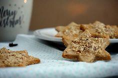 Honig-Nuss-Sterne! Weihnachtskekse mit etwas mehr Nährwert!