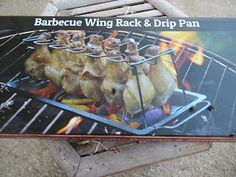 Chicken Wings, Barbecue, Cave, Beef, Tools, Products, Meat, Bbq, Barrel Smoker
