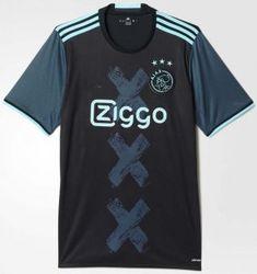 16-17 Cheap Ajax Away Replica Jersey [E845]