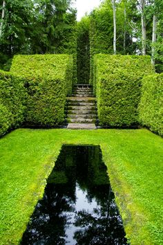Garden ponds water features on pinterest water for Jardin quatre vents