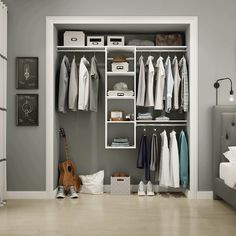 Storage + more storage + even more storage. Which tower option would you choose? Featured: Style+ available exclusively at @homedepot #MansCloset #ClosetDesign #DreamCloset