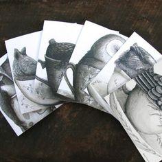 Tea Cozy 1 Notecards - Renee Treml