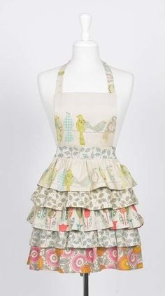 I need a cute apron for when I'm doing floral work for Peace Love Flowers