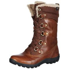 #Shoes #Apparel Timberland 7610 Womens Mount Hope Brown Winter Boots Shoes 5.5 Medium (B,M) BHFO #Christmas #Gifts