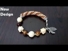 boncuk bileklik nasıl yapılır hapishane işi - YouTube Bracelet Tutorial, Beading Patterns, Jewelry Crafts, Fun Crafts, Beaded Bracelets, Beads, Crochet, Diy, Youtube