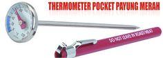 Nama : Thermometer Pocket Merk : Tipe : Payung Merah Status : Siap Berat Kirim : 1 Kg