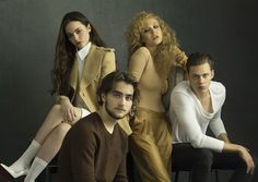 """My roundtable interview with the cast of """"Hemlock Grove.""""  http://acedmagazine.com/interview-with-the-cast-of-hemlock-grove/"""