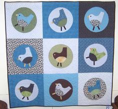 My road trip last weekend also included 2 guild quilt shows. The photos I'm showing are a mix from both shows. The first one I went to was w...