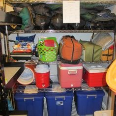Great blogpost with checklists for Camp Kitchen Tub, Family Tent Tub, Camp Supplies Tub, Last Minute Checklist