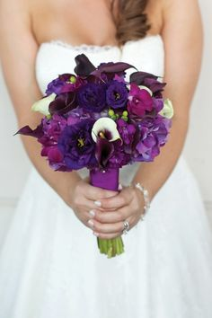 fuschia and purple wedding aisle decorations | visit seacoastbride com