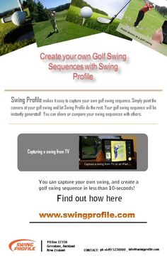 #Golf #Swing #Sequences #SwingProfile