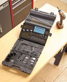204-Pc. Super Drill Bit Set #SuperDrillBits
