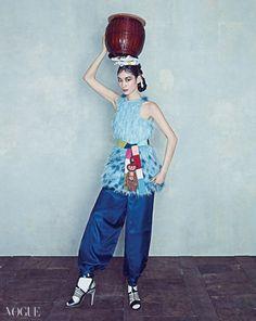 Oriental Dream Vogue Korea March 2015