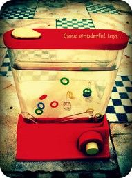 My grandma had one and it was OLD when I was little. One of my favorite toys!