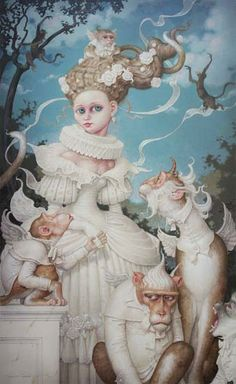 Artodyssey: Daniel Merriam.  He is an amazing artist!
