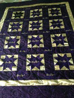 Crown Royal quilt. … | Pinteres… : crown royal quilt patterns free - Adamdwight.com