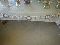 Candy table set up and placement