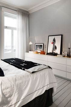 40 Ikea Malm Dresser Hacks 40 Ikea Malm Dresser Hacks Ikea Malm Dresser Is A Cool Piece That Can Fit Any Bedroom Closet Entryway Or Any Other Room Taken In White It S Perfect For Most Of Modern Interiors 40 Ikea Malm Dresser Hacks Comfydwelling Com Farmhouse Bedroom Decor, Home Bedroom, Diy Bedroom Decor, Master Bedroom, Home Decor, Bedroom Storage, Bedroom Curtains, Bedroom Wall, Ikea Bedroom Design