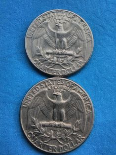 Coin Collection Value, Rare Coin Values, Old Coins Worth Money, How To Clean Coins, Old Coins Value, Rare Pennies, Coin Books, Valuable Coins, Quarter Dollar
