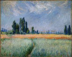 Claude Monet - Champ de blé, 1881