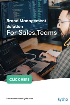 Sales teams need ways to quickly get content that will impress leads, build relationships and thought leadership and, most importantly, close more deals. Sales people don't have time to study brand guidelines in depth, or track down rights for customer quotes and case studies. They are looking to bring new business to the company, and leave the brand management stuff for Lytho. #brandmanagement #dam #digitalmarketing #growthmindset #brandconsistency #successstory Digital Asset Management, Brand Management, Customer Quotes, Online Marketing, Digital Marketing, Sales People, Social Enterprise, Marketing Professional, Brand Guidelines