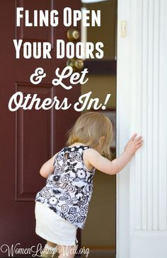 We shouldn't make our home a haven just for our family. Fling open your doors and let others in; letting them enjoy the haven and warmth of your homemaking. Christian Wife, Christian Marriage, Christian Parenting, Christian Quotes, Biblical Marriage, Good Marriage, Haven Series, Proverbs 31 Woman, Adopting A Child