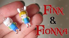 Finn & Fionna Tutorial From Adventure Time! Polymer Clay.          #Tutorial   #VideoTutorial                                                   http://www.youtube.com/user/LilacSprinkles/videos