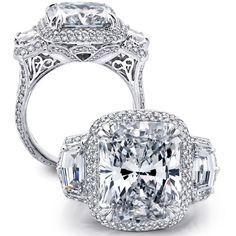 Beaudry Waterfall Cadillac Diamond Ring. 215873