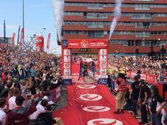 European Champion Markus Fachbach (GER) @ Challenge Almere-Amsterdam 2014. Photo Tije Vlam