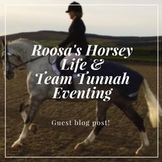 Guest blog post with Team Tunnah Eventing!