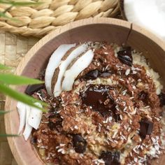 Porridge façon Bounty