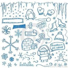 Doodle Winter Bullet journal