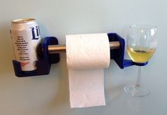 The+Very+Classy+His+&+Hers+Beer,+Wine+And+Toilet+Paper+Holder