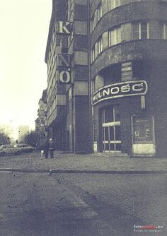"1991 , Kino ""Wolność"" The Face, Krakow, Amalfi, Planet Earth, Poland, Planets, Times Square, Arch, Exterior"