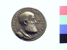 Medaglia in bronzo di Giovanni Cavino per Marco Antonio Passeri | Collezioni online | Museo Civico Archeologico di Bologna | Iperbole