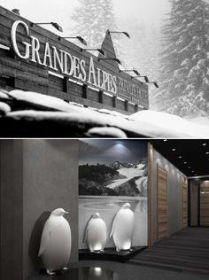 Décembre 2012: Une  Balade à la montagne.  NOUVEAU SPA VALMONT À COURCHEVEL.  http://www.plumevoyage.fr/magazine/voyage/luxe/une-balade-a-la-montagne-tout-schuss/