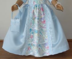 ICE PRINCESS BALL GOWN CREATED FOR by MargaretteDesigns4AG on Etsy