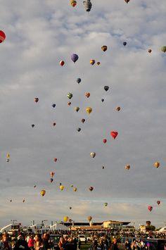 Albuquerque, NM. Balloon Fiesta.