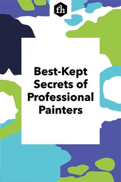 Learn how to paint like a pro and pick up some great tips for achieving a perfectly smooth and even paint job. Best Kept Secret, The Secret, Painting Tips, House Painting, Lead Paint, The Last Drop, Professional Painters, Buying A New Home, Paint Furniture