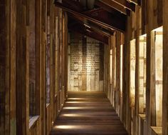 Recycled timber from Bailnese huts add a unique feature - Image - FX magazine