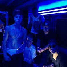 imagine you walk in to justin's party and him looking at u with his hands in his pants